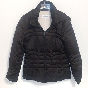 Calvin Klein Down Filled Coat with Hood
